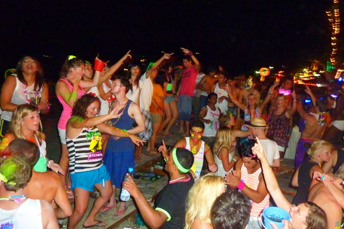 "Full Moon Parties & Other ""Moon"" Parties in Koh Phangan"