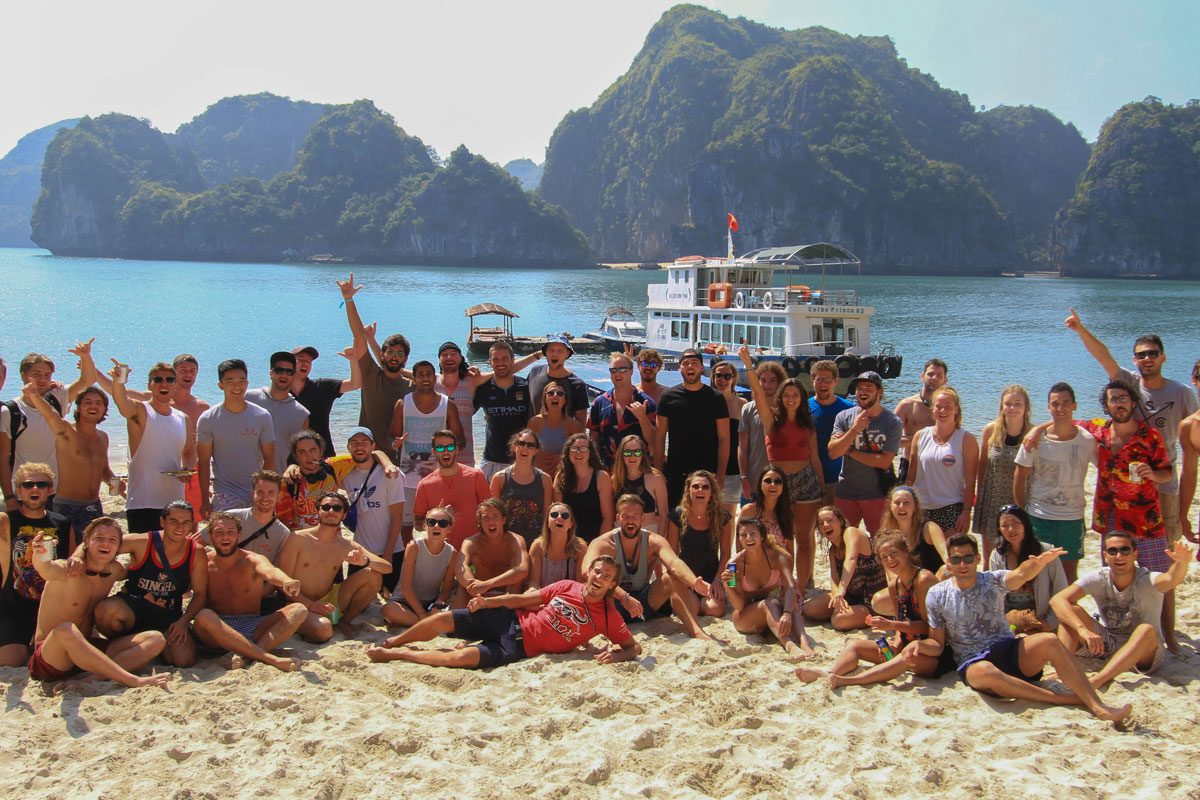 "<span class=""hot"">Hot <i class=""fa fa-bolt""></i></span> The Ultimate Halong Bay Trip for Backpackers! (3 Day / 2 Night Adventure)"