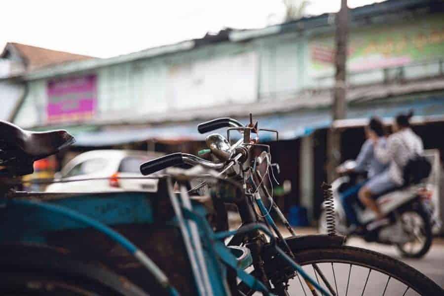 Biking - South East Asia Backpacker
