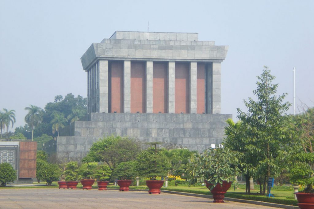 The Mausoleum, Hanoi