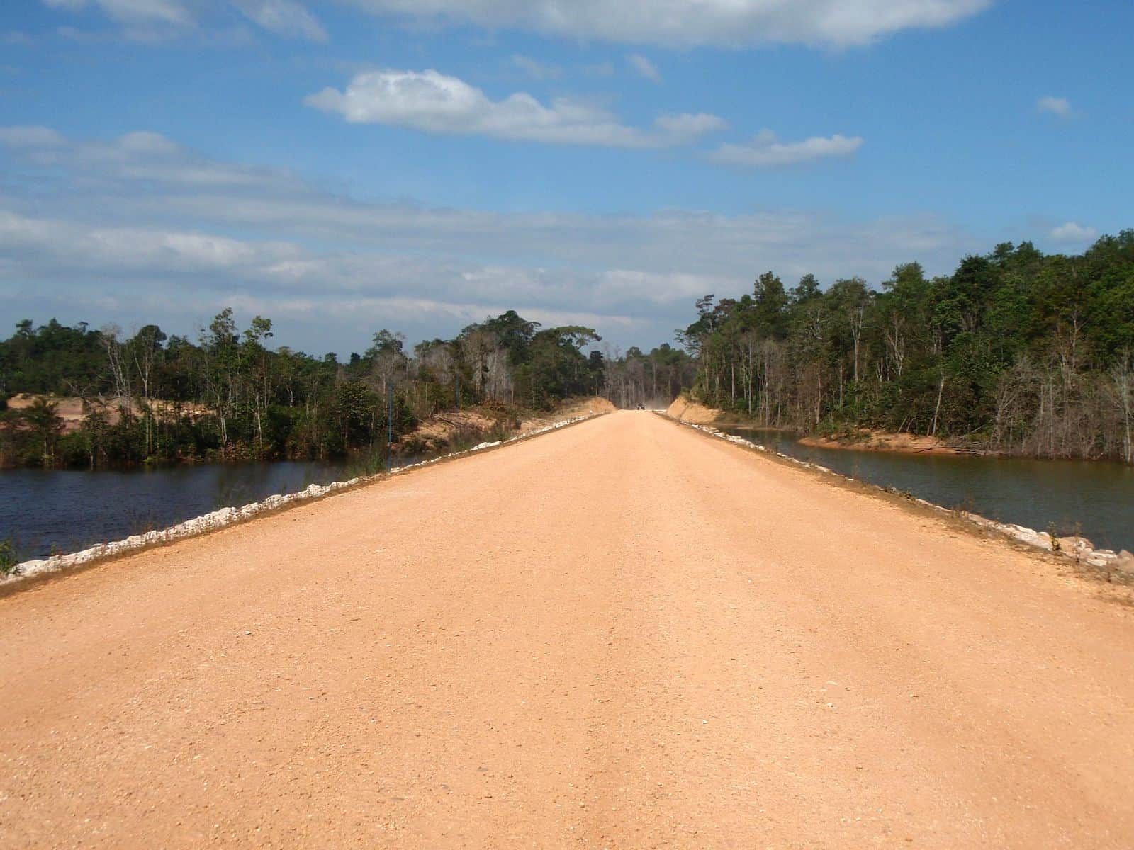 The roads around Thakhek, Laos.