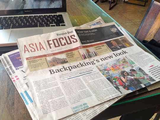 Nikki Scott Featured in Asia Focus
