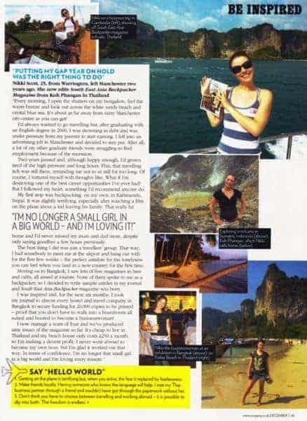 COMPANY Magazine SEA Backpacker
