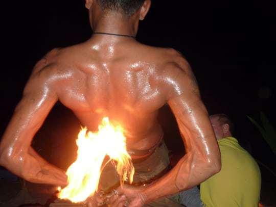 Fire Dancer in Koh Tao