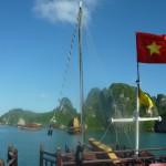 Aboard the Jolly Roger to Halong Bay & Castaway Island, Vietnam