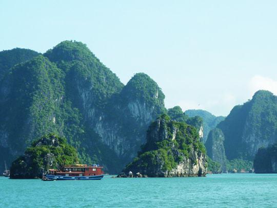 UNESCO World Heritage Site, Halong Bay, Vietnam