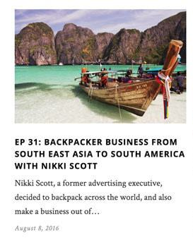 Jet Set Life Podcast Image - Interview With Nikki Scott