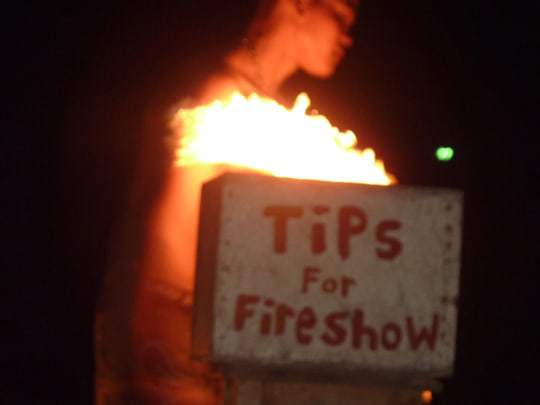 Tips for the Fireshow in Koh Tao