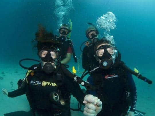 Diving with Master Divers in Koh Tao