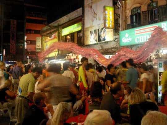 Dragon Parades in Kuala Lumpur