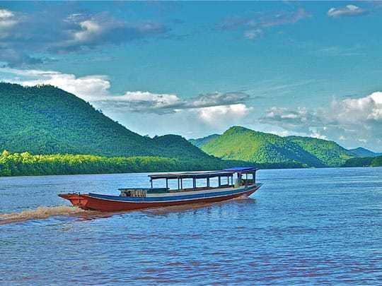 Mekong Slow Boat Journey