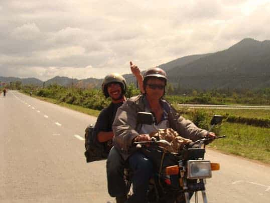 Easy Riding in the countryside of Vietnam