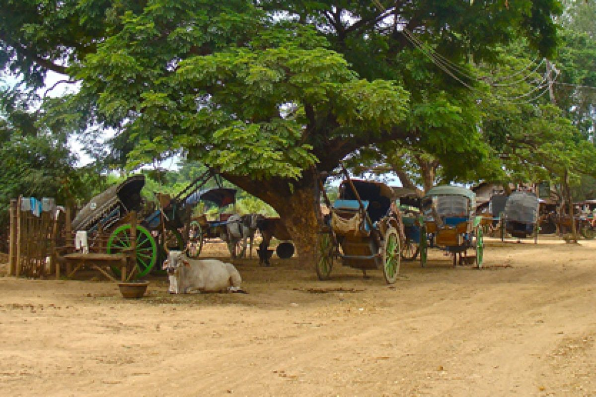 Burma: Stepping Back in Time