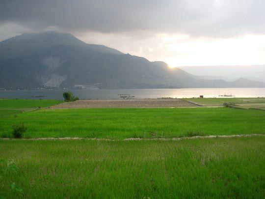 Pulau Samosir Lake Toba Sumatra