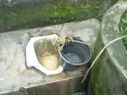 A toilet in Southeast Asia