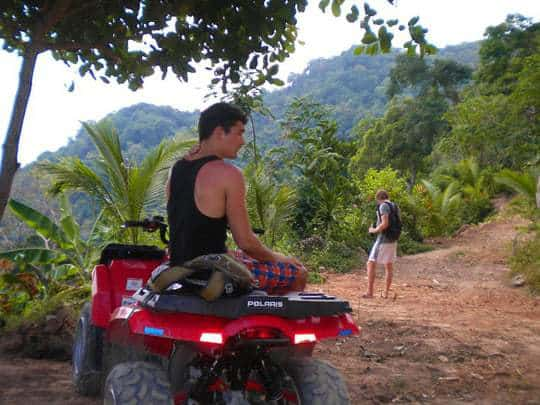 Quad Biking in Koh Phangan