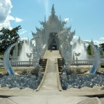 The White Temple in Chiang Rai northern Thailand