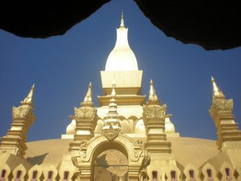 That Luang Temple, Laos.