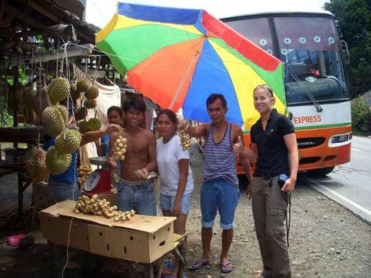 Fruit stop Davao Anna Philippines