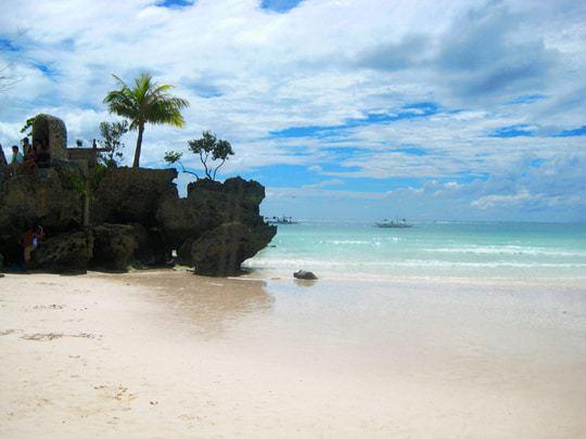 white beach borocay philippines