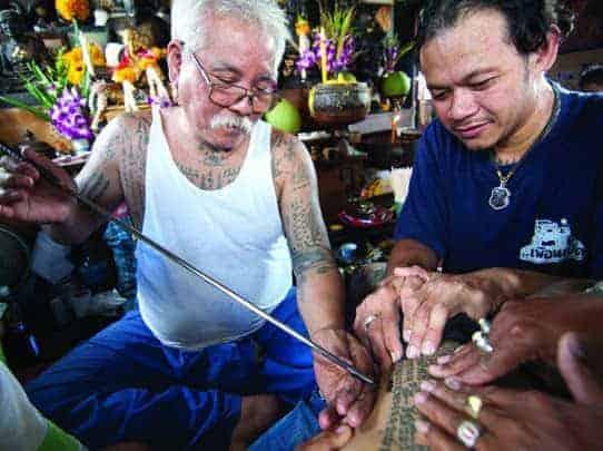 Sacred tattoos of Thailand Joe Cummings