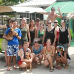 The Team of Volunteers at Lanta Animal Welfare!