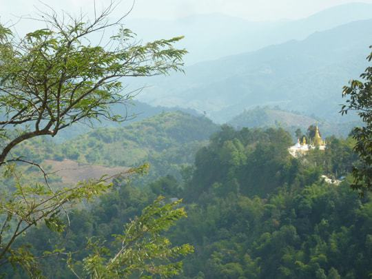 The beautiful scenery surrounding Mae Salong, northern Thailand
