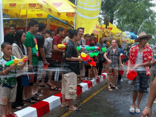 Songkran in Thailand - Festivals in Southeast Asia