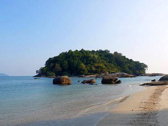 Beach near Telaga harbour Langkawi