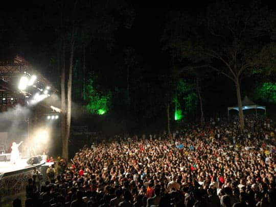 Crowd & RWMF Main Stage