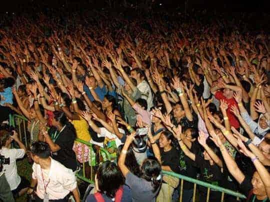 RWMF Crowd - Festivals in Southeast Asia in June