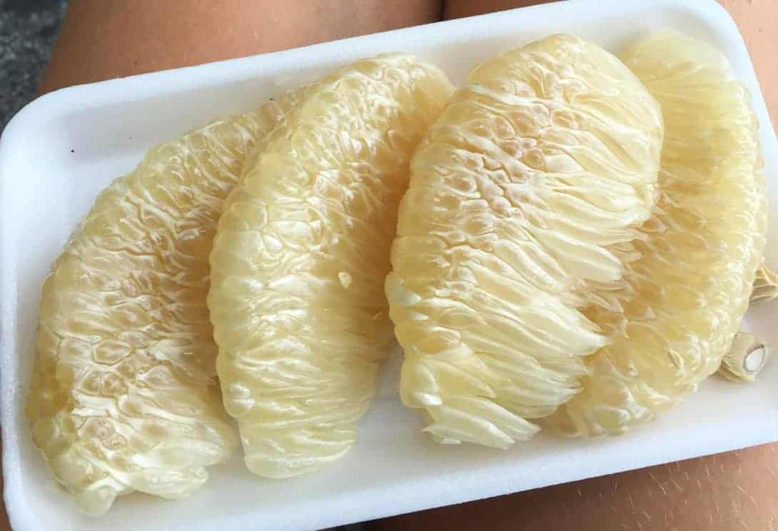 Pomelo slices Southeast Asia