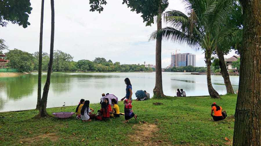 KandawgyiLake, Yangon.