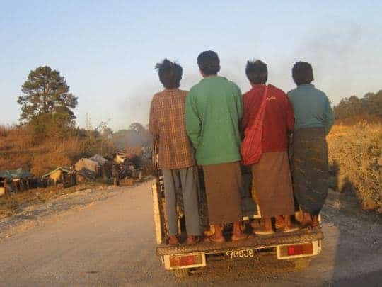 Myanmar transport