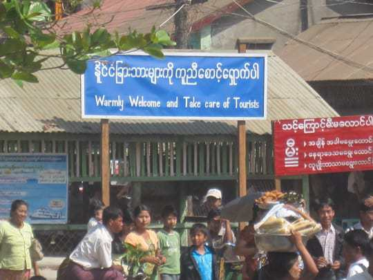 Myanmar Warmly Welcome and Take Care of Tourists