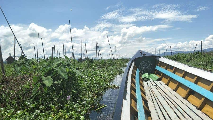 Inle Lake Boat Trip Floating Gardens.