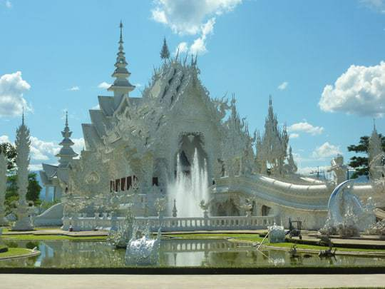 The White Temple in Chiang Rai, Northern Thailand