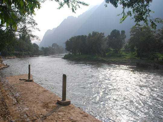 The quiet NamSong River October 2012