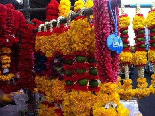 Hindu Sri Mariamman Temple is just a short walk from Lub d Silom