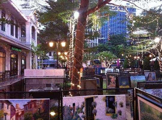 Trendy Baan Silom Art Market, Silom Soi 19, every Thursday & Friday 3pm-10pm.
