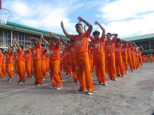 The dancing inmates