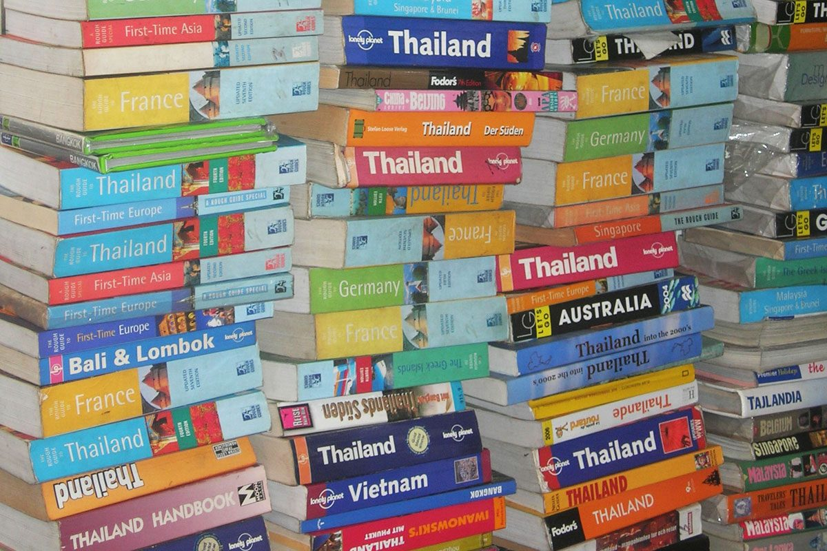 As Lonely Planet are sold for a massive loss, we question the future of the travel guidebook…