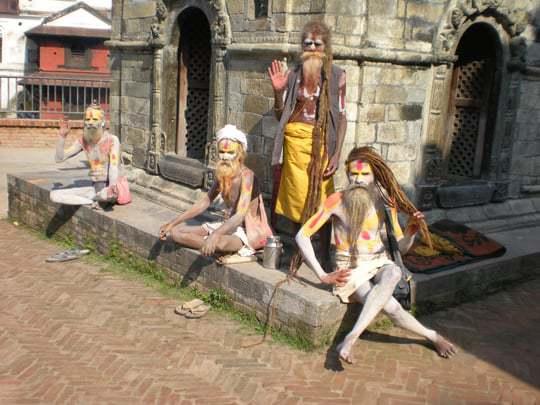 Holy men - Saddhu's Nepal