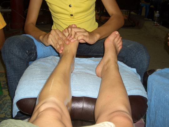 Foot massage Thailand