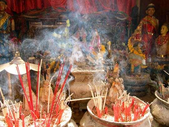Wat Pho Chai Temple, Nong Khai, Thailand.