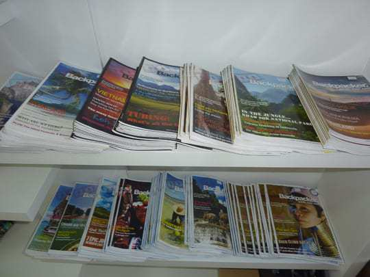 All back issues of S.E.A Backpacker Magazine