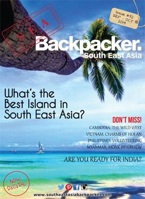 SEA Backpacker Magazine: Latest Issue Coverpage
