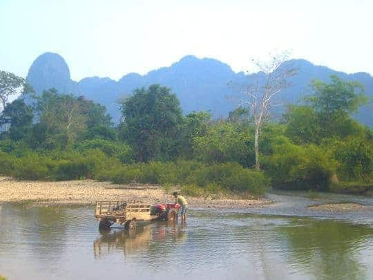 Mountains Vang Vieng