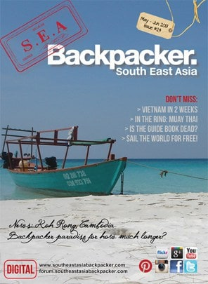 S.E.A Backpacker Front cover iss 24