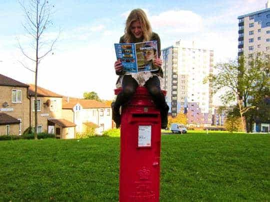 Waiting at the postbox SEA Backpacker Magazine